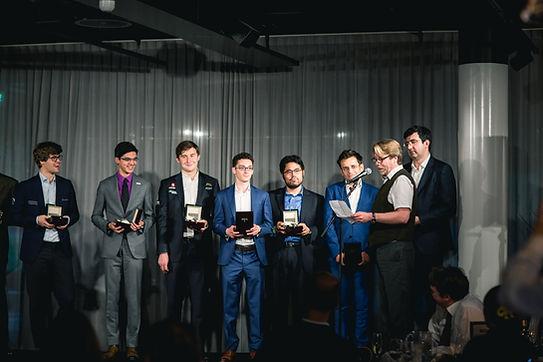 Grandmaster automatic watch winners in chess