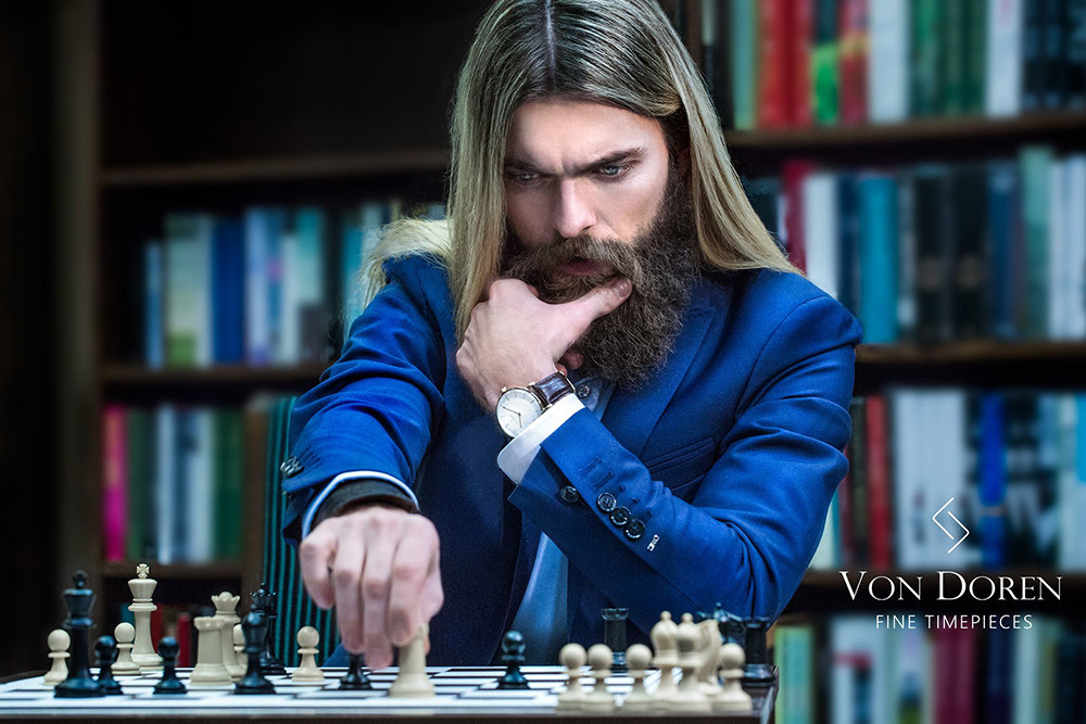 Von Doren Fine Timepieces - Chess