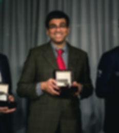 Vishy Anand med Grandmaster automatic klokke