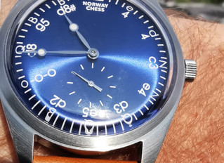 Von Doren designs the Official Norway Chess Watch