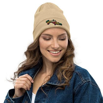 Organic ribbed beanie