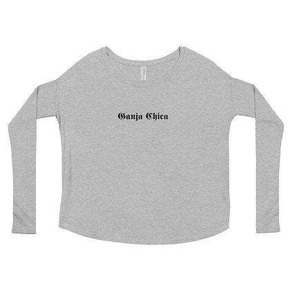 Women's Flowy Long Sleeve Shirt   Bella + Canvas 8852