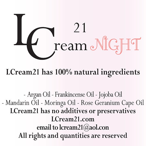 LCream21 Night 50gr