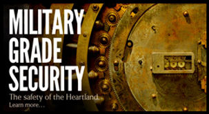 MILITARY GRADE SECURITY - Depository Acc