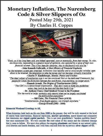 5-Monetary Inflation, The Nuremberg Code
