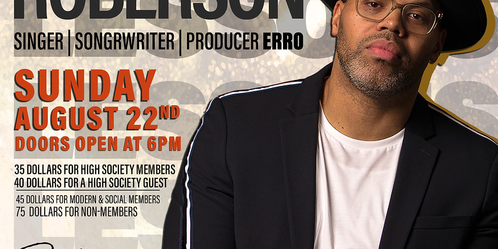 Lessons with Eric Roberson