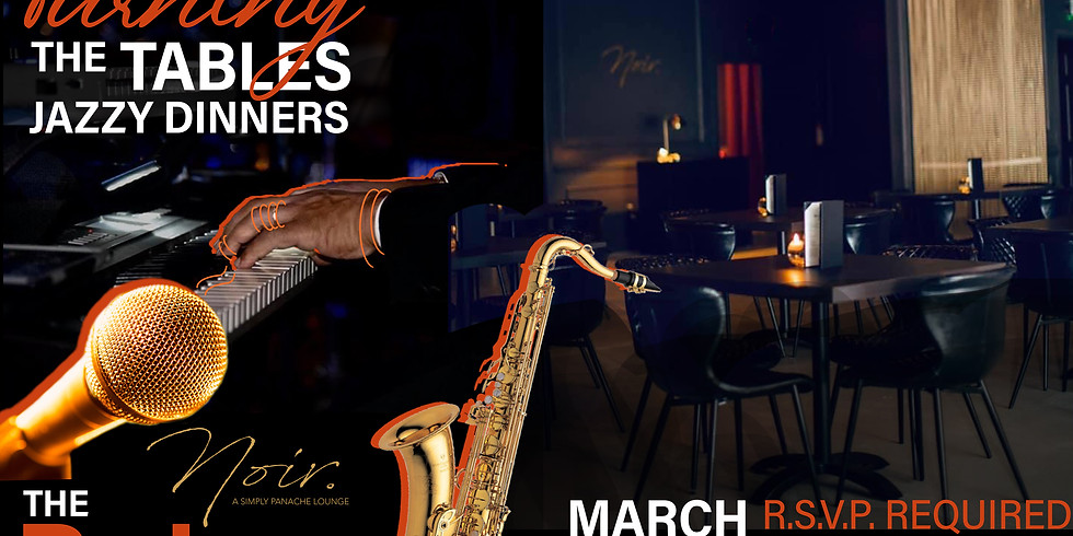 Turning the Tables Jazzy Dinners with The RaJazz Trio