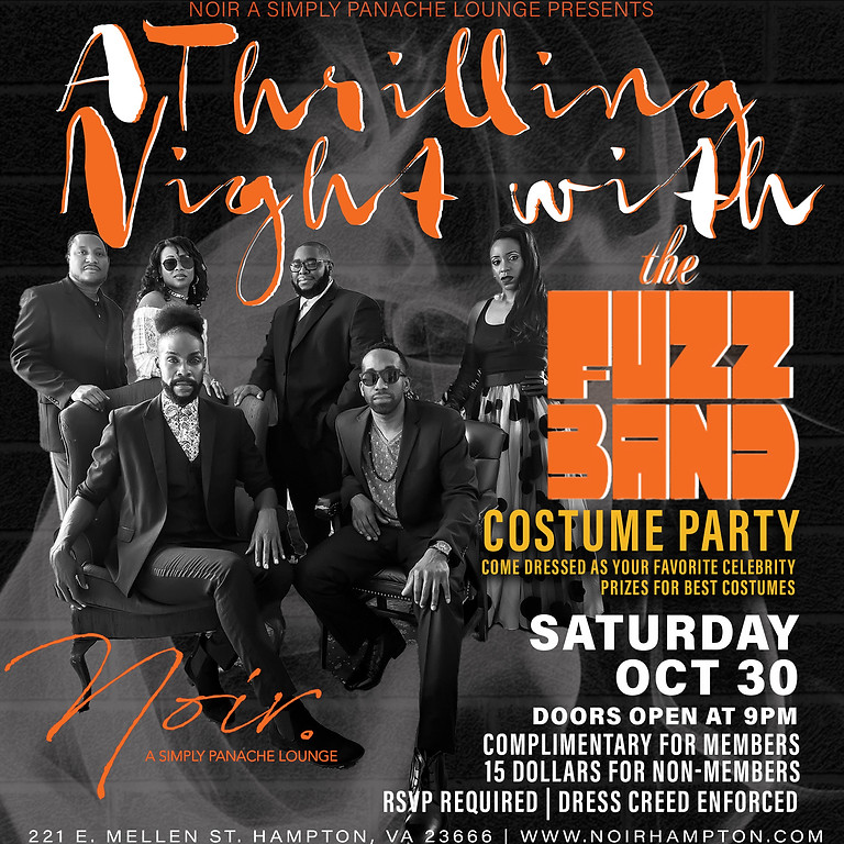 A THRILLING NIGHT WITH THE FUZZ BAND | COSTUME PARTY