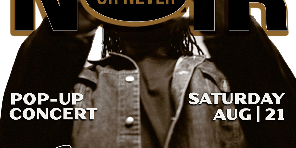 POP UP EVENT   SATURDAY AUG 21