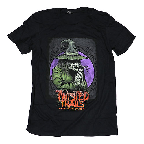 Twisted Trails T-Shirt  |  Witch