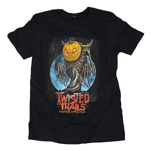 Twisted Trails T-Shirt  |  Pumpkin