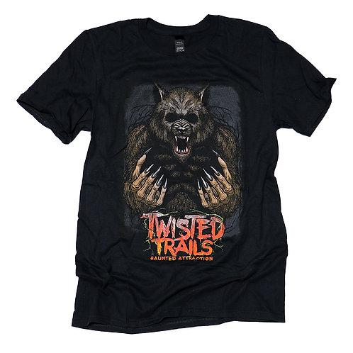 Twisted Trails T-Shirt  |  Werewolf
