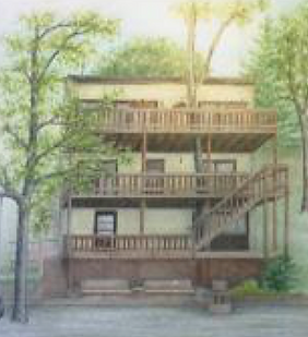 Colored Pencil House Portraits Finger Lakes