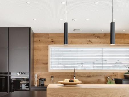 Chiếu sáng thông minh nhà bếp- phòng ăn với Loxone