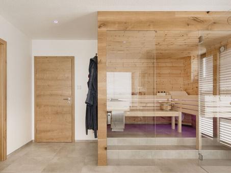 Kiểm soát nhiệt độ sauna khô với Loxone