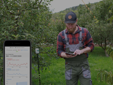 Significant reduction of water consumption with CleverFarm