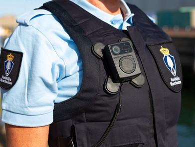 Bodycamera chuyên dụng cho cảnh sát, giao thông, hải quan, an ninh sân bay và bảo vệ.
