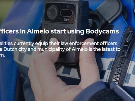 Lực lượng thực thi pháp luật ở Almelo triển khai sử dụng Bodycam Zepcam