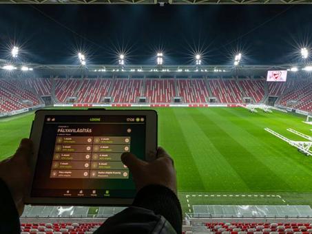 Loxone smart automation dành cho sân bóng đá! Bạn không nghe lầm đâu!