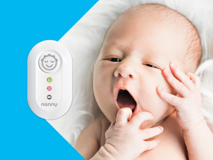 Jablotron Nanny - Thiết bị giám sát nhịp thở cho trẻ sơ sinh và trẻ nhỏ sản xuất tại Châu Âu