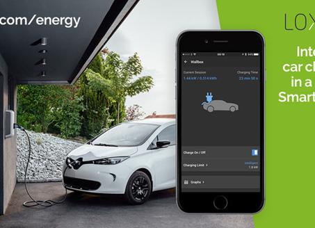 Loxone và BMW hợp tác phát triển trạm sạc ô tô điện thông minh.