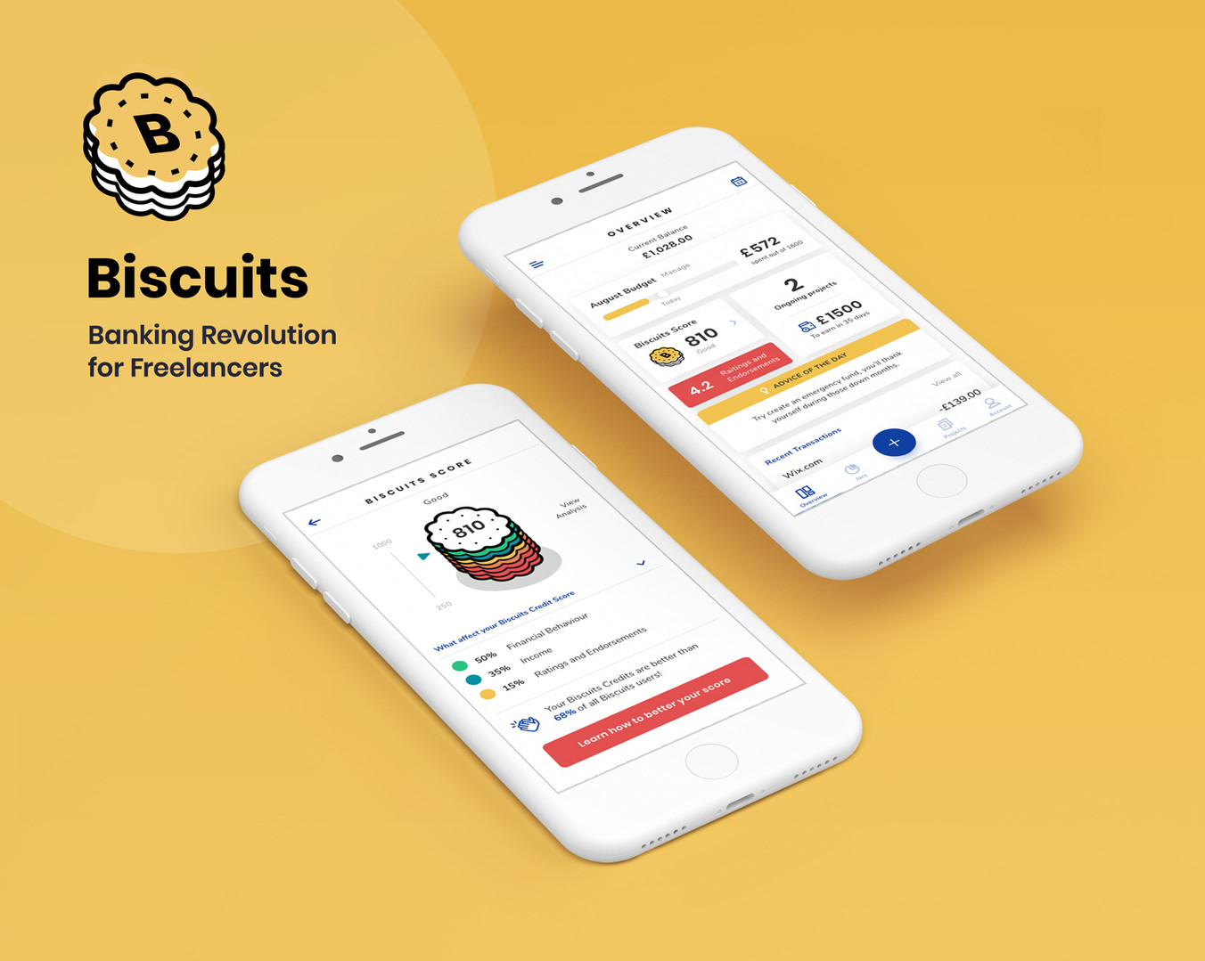 Biscuits – Banking Revolution for Freelancers