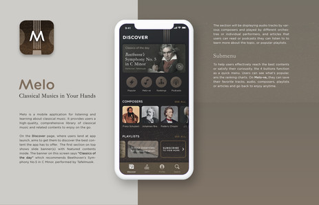 Melo | Mobile App for Classical Music Lovers