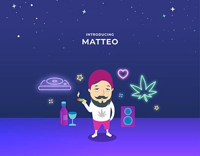 Amazon Dash x Cannabis Store