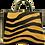Thumbnail: Couro com pelo New Zebra Yellow