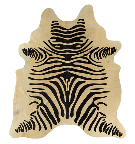 Tapete Zebra Bege