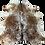 Thumbnail: Tapete de Couro Salt & Pepper Salpicado Marrom