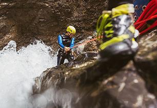 Canyoning in Arlberg