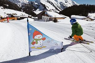 Kinderskischule in Warth am Arlberg