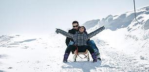 sledding in the Arlberg