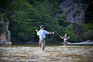 Fishing in Spullersee
