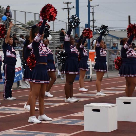 Cheer Varsity v View Park 8/17