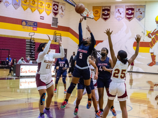 Lady Olympians Come up Short in CIF SS Div. 2AA Basketball Championships