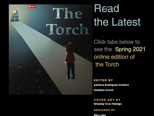 Read the Spring Edition of TheTorch