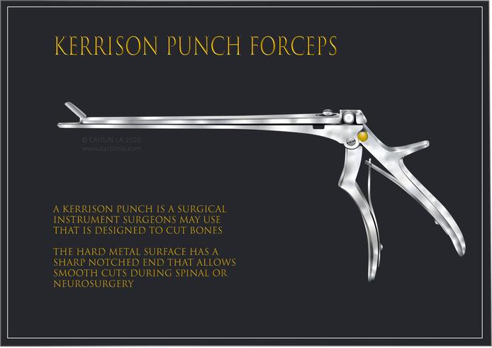 Kerrison Punch Forceps