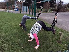 Small Group PT in the local park