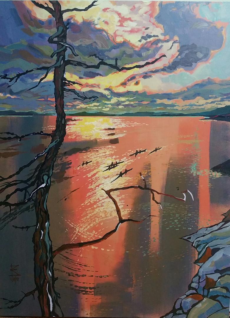 Forillon Sunset