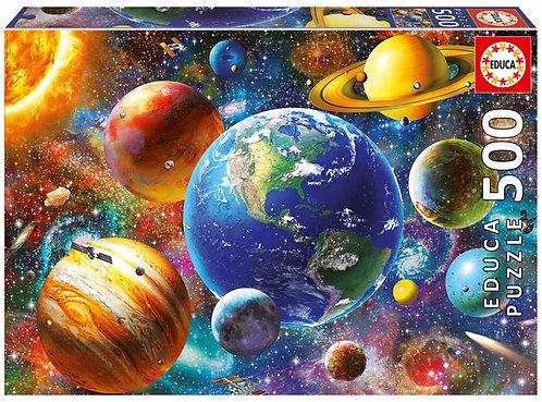 Sonnensystem 500 Teile Puzzle