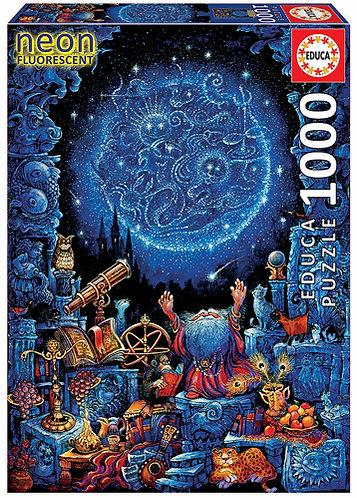 Astrologe 1000 Teile Nachtleuchtpuzzle