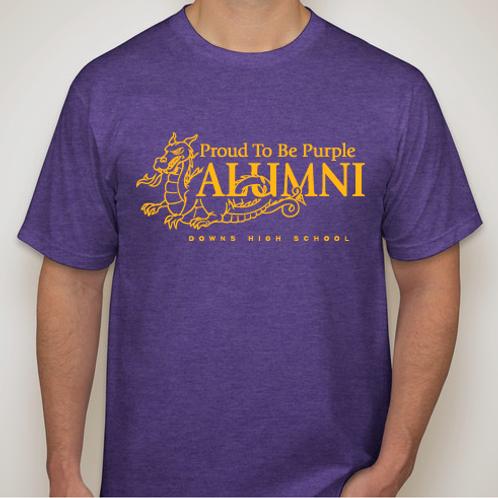 Proud To Be Purple Alumni 2014 T-shirt