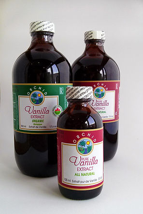 Organic and Pure Vanilla Extract