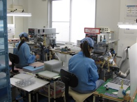 第1工場 印刷作業