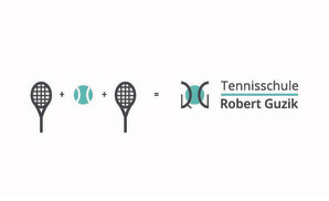 Logo design tennisschule
