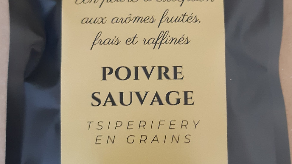 Poivre sauvage Tsiperifery en grains