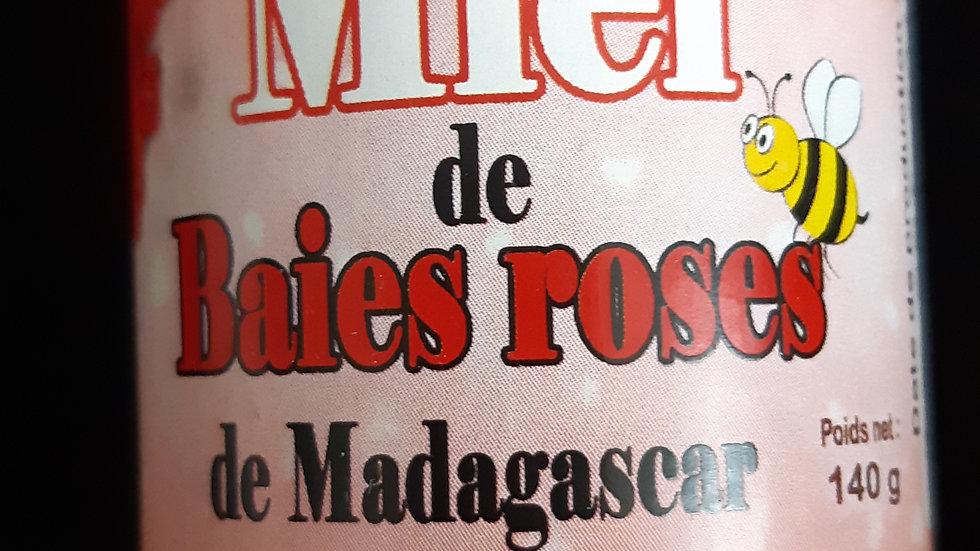 Miel de baies roses