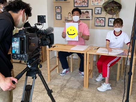 7/15「TNC ももち浜ストア」に似顔絵講師としてテレビ出演します!
